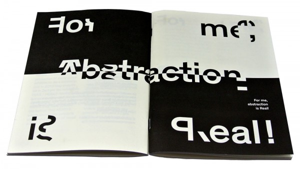 FOR ME, ABSTRACTION IS REAL!
